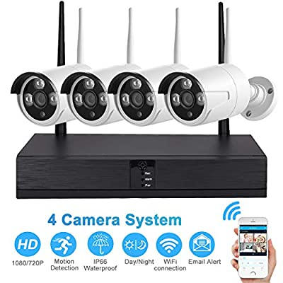 Xenocam 4CH 5MP Full High Definition Hybrid AHD/TVI/CVI/Analog/Onvif IP DVR H.265 CCTV Video Recorder P2P Remote Phone Monitoring for Home Security Surveillance System Camera (NO HDD)