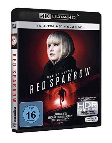 Red Sparrow (4K Ultra HD) (+ Blu-ray)
