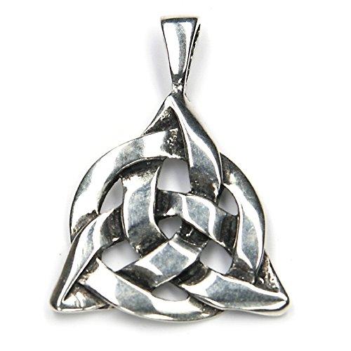 Keltischer Schmuck Anhänger Silber keltische Knoten massiver Taliesin Kelten Kettenanhänger Damen Herren