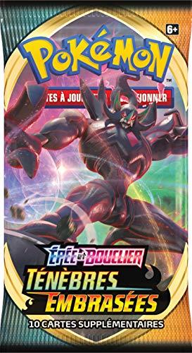 Pokémon Epée et Bouclier-Ténèbres Embrasées (EB03) : Booster, POEB302