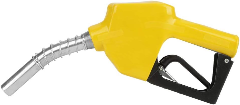 Boquilla de combustible, boquilla de combustible de corte automático de aluminio Herramienta de dispensación de combustible diesel, boquilla de llenado de combustible