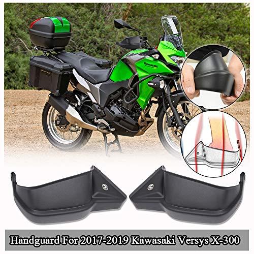 FATExpress Motocicleta Guardamanos Protector de la Mano Barra de la manija para 2017 2019 2019 Kawasaki Versys X-300 Versys-X 300 Versys X 300 VersysX300 KLE300 Accessories 17-19