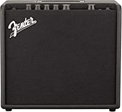 "25-watt combo amplifier Single 8"" Fender Special Design guitar speaker Wooden cabinet Simple user interface with 1. 8"" color display"