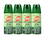 OFF! Deep Woods Dry Aerosol Insect Repellent, 2.5 Ounce (4 Count)
