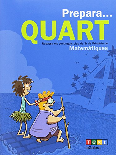 Prepara... Quart. Matemàtiques (Quaderns estiu) - 9788441230224