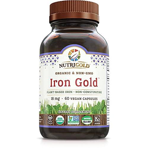 Nutrigold Organic Gentle Iron Suppl…
