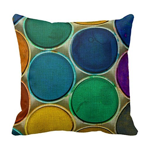 almohada de latex fabricante Cotton linen pillow cover