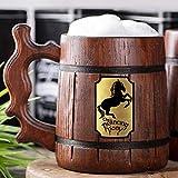 Taza con forma de poni, diseño de lord of the Rings Regalo, con texto en inglés 'The Prancing Pony y 'Frodo' (95/0,6 L)