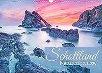Schottland: Naturerlebnisse (Wandkalender 2022 DIN A3 quer): Schottland: Gruene Huegel und stuermische Steilkueste (Monatskalender, 14 Seiten )