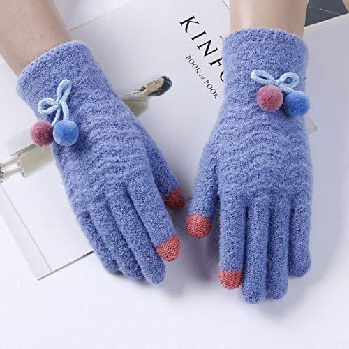 ZXQADRVW Ski Gloves Ski GlovesGuantes cálidos de invierno Guantes de pantalla táctil...