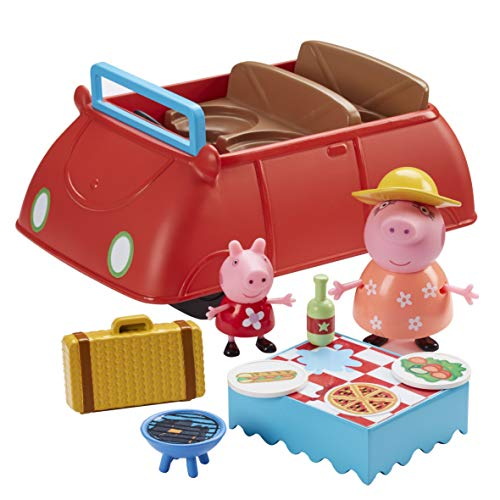 Peppa Pig- Coche Deluxe, Multicolor (Bandai CO06921)
