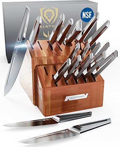 DALSTRONG - 18pc Knife Block Set - Crusader Series - Forged...