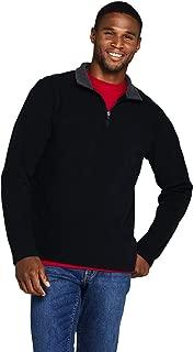 Lands' End Men's Fleece Quarter Zip