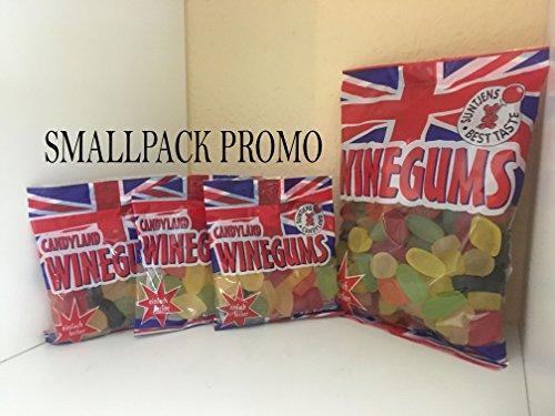 Suntjens - Candyland English Winegums 2000g - 2 Beutel a 1000g Weingummi