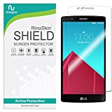RinoGear Screen Protector for LG G4 Case Friendly LG G4 Screen Protector Accessory Full Coverage Clear Film