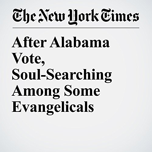 After Alabama Vote, Soul-Searching Among Some Evangelicals copertina