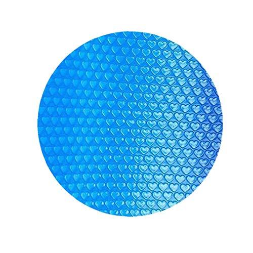 Odoukey Piscina Cubierta Piscina Redonda Solar Cubierta Protectora Impermeable Polvo Piscina de Aislamiento de Cine Inicio Piscina Accessor 360CM