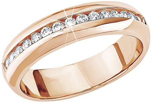 s.Oliver Jewel Damen-Ring 925 Sterling Silber Zirkonia weiß Gr.52 (16.6) 489980