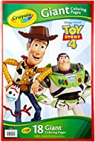 CRAYOLA 04-0543 Giant Coloring Book, Toy Story 4