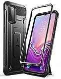 SUPCASE Cover Samsung S20+ Plus, Custodia Rigida S20+Plus e Cavalletto Integrato Rugged Case [Unicorn Beetle PRO], Senza Protezione per Display, Nero