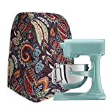 """Colorful Kitchen Aid Mixer Cover, 4.5-6 Quart Stand Mixer Dust Cover, Kitchen Appliance Cloth Cover Organizer Bag, Diamond Collection, Year Aound Protection For Your Mixer (12""""Lx12""""Wx16""""H)"""