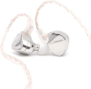 Moondrop Kanas Pro HiFi in-Ear Earphone with Zinc Magnesium Alloy Cavity, Detachable 0.78mm 2 Pin Cable