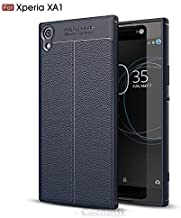 Cocomii Ultimate Armor Sony Xperia XA1 Case New [Heavy Duty] Premium Tactical Leather Pattern Grip Slim Fit Shockproof Bumper [Military Defender] Full Body Cover for Sony Xperia XA1 (Ul.Deep Blue)