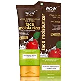 WOW Skin Science Organic Apple Cider Vinegar Face Moisturizer - Oil Free, Quick Absorbing - For...
