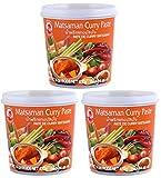Cock - Pasta de curry Matsaman - paquete de 3 (3 x 400 g)