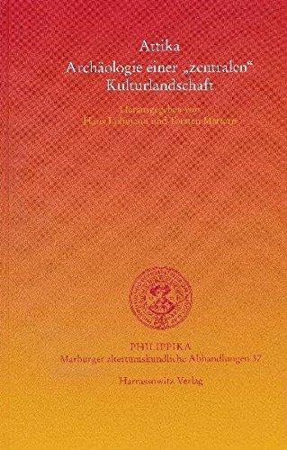 Attika: Archaologie Einer Zentralen Kulturlandschaft: 37