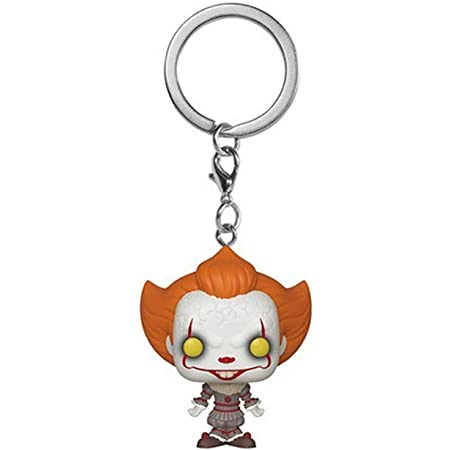 Funko Pop Pocket Keychain Horror It Pennywise With Wig Vinyl Figure Fp20 for sale online