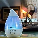 INNObeta Waterdrop 2,4 Litre Ultrasonic Humidificateur d'air pour Bébé, Ambiance, Maison, avec Filtre, Silencieux, Veilleuse, Auto-Arrêt (Jusqu'à 35㎡) #3