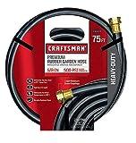Craftsman Garden Hose 75 ' X 5/8 ' Rubber Premium 500 Psi