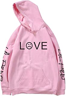 Unisex Hoodie Love Printed Fashion Sport Hip Hop Hoodie Sweatshirt Pocket Jacket Pullover Tops