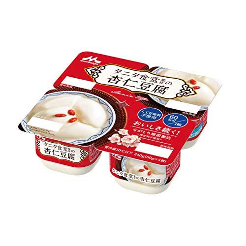 森永乳業 タニタ食堂監修の杏仁豆腐 (60g×4P)×6パック