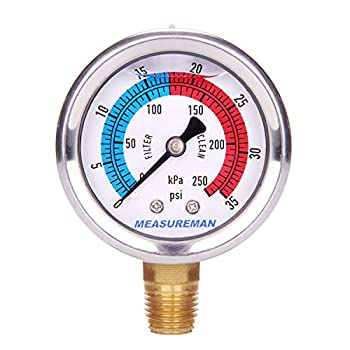 Best pool pump pressure gauge Reviews