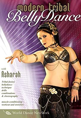Modern Tribal Belly Dance, with Asharah: Beginner tribal fusion bellydance how-to, Belly dancing instruction