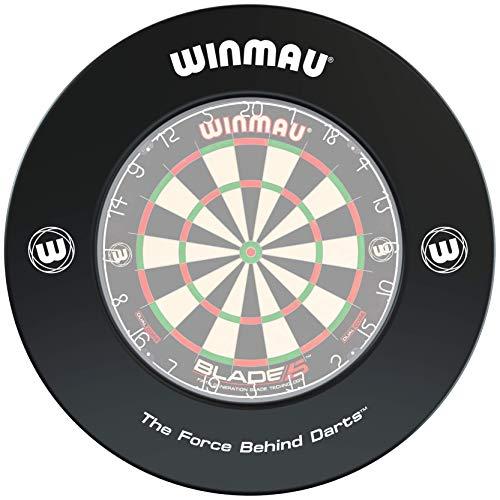 WINMAU Printed Black Dartboard Surround