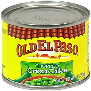 Old El Paso Chopped Green Chiles 4.5 Oz (Pack of 6)
