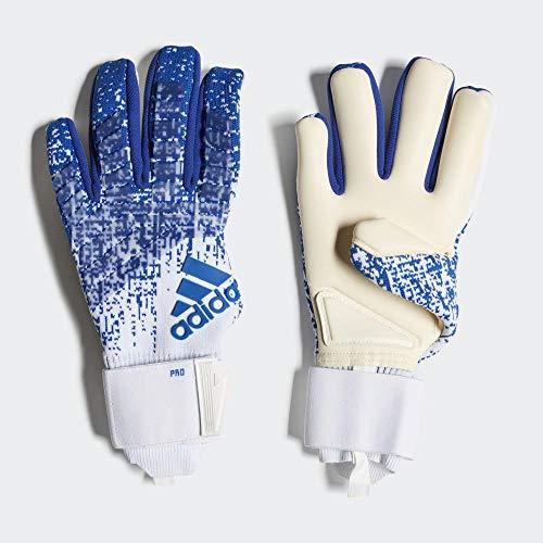 Adidas Pred Pro Torwarthandschuhe, Unisex, Erwachsene, Unisex-Erwachsene, DN8582_11, Mehrfarbig (fooblu / blanco)