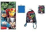 Marvel Toalla de Playa Captain America Avengers - Bolsa de Playa Avengers