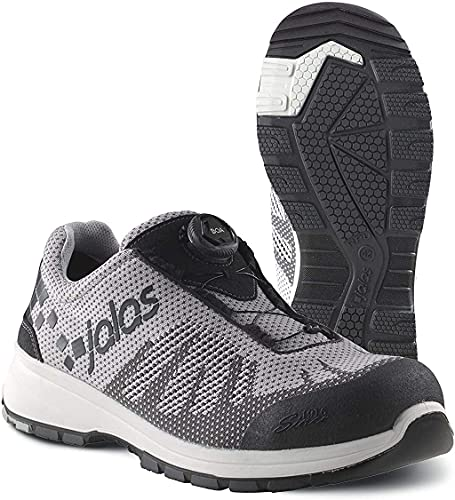 Jalas 7118 Zenit Evo Easyroll Ultralight Technical Safety Shoes (Numeric_11) Grey, Black