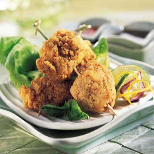 Tyson Homestyle Pepper Breaded Boneless Chicken Wings, Breast Meat Chunks, Fully Cooked, 5 Pound -- 2 per case.