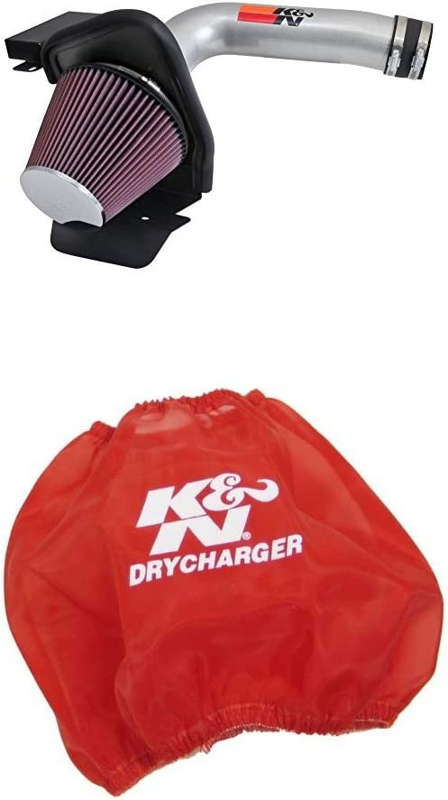 KN 77-2587KS Super special price Performance Air Intake System Filter supreme with Red