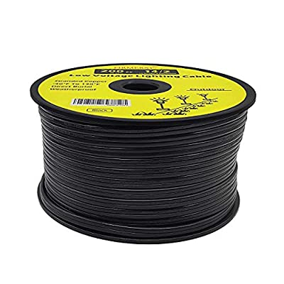 FIRMERST 14/2 Low Voltage Landscape Wire Outdoor Lighting Cable 200 Feet
