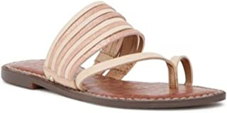 Sam Edelman Women's Gwennie Sandal, Blush/Natural, 10 M