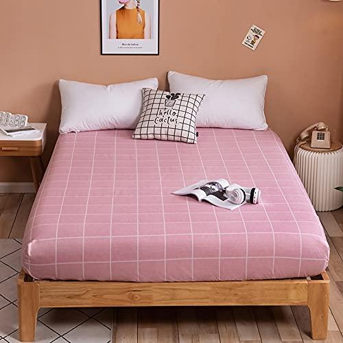 BOLO Juego de sábanas de 100% algodón egipcio de calidad de hotel, 1 pieza, extra profundo, doble británico, sábanas de lujo, 180 x 200 + 25 cm + 48 x 74 cm, 2 unidades