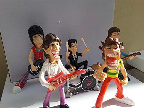 TRUMAR Rolling Stones-Gruppe. Figuren Harz Polystone®