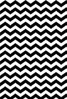 GooEoo 5x7FTシェブロン写真の背景黒と白の華やかな折れ線グランジ背景女の子男の子恋人友人写真スタジオ撮影背景の背景と抽象的なシームレスパターン
