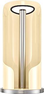WESCO Soporte para Rollos de Papel, Acero Inoxidable, Acero Inoxidable, marrón, 15.5 x 15.5 x 30 cm